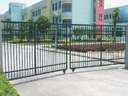 厂区铁艺栅栏门